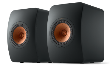 KEF LS50 Wireless II Carbon Black (Paarpreis)